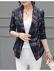 cheap -Women's Work Jacket - Color Block