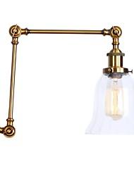 abordables -Style mini / Design nouveau simple / Rétro / Vintage Lumières de bras oscillant Salle de séjour / Magasins / Cafés Métal Applique murale 110-120V / 220-240V