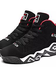 Недорогие -Муж. Комфортная обувь Полиуретан Осень На каждый день Спортивная обувь Для баскетбола Дышащий Белый / Черный / Черный / Красный