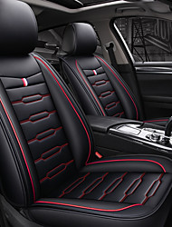 Недорогие -ODEER Чехлы на автокресла Чехлы для сидений Черный / Красный текстильный / Искусственная кожа Общий Назначение Универсальный Все года Все модели