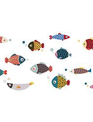 Недорогие -Декоративные наклейки на стены - Простые наклейки / Наклейки для животных Пейзаж / Животные Столовая / В помещении