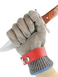 Недорогие -1 пара Стальная проволока Перчатка Безопасность и защита Противоскользящий Дышащий
