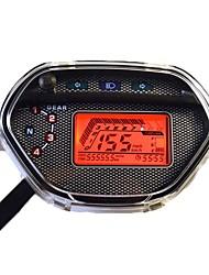 baratos -CB-0101 Motocicleta Hodômetro / Medidor de pressão de óleo / Velocímetro para motocicletas Todos os Anos Calibre Á Prova-de-Água / taquímetro / Filtro Solar