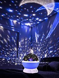preiswerte -brelong 1 pc usb projektion himmel licht hellrosa / blau / lila
