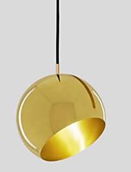 Недорогие -Круглый Подвесные лампы Рассеянное освещение Сплав цинка Металл Творчество 110-120Вольт / 220-240Вольт Лампочки не включены / E26 / E27