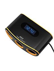 Недорогие -Автомобиль Прикуриватель / Автомобиль USB зарядное гнездо 2 USB порта для 12 V