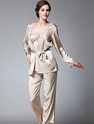 abordables -N / C Rayon / polyester Cadeaux Couleur Unie Mariage