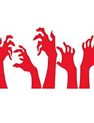 Недорогие -Оконная пленка и наклейки Украшение Хэллоуин Праздник ПВХ Стикер на окна / Магазин / Кафе
