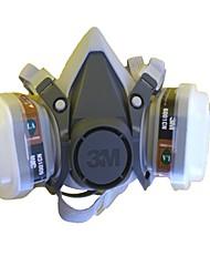 Недорогие -1шт Ластик Маски Защита двойной газовой маски Полнолицевые