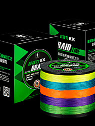 cheap -300M / 330 Yards / 500M / 550 Yards PE Braided Line / Dyneema / Superline Fishing Line 15LB / 12LB / 10LB 0.12 0.14 0.16 mm mm 147 Sea Fishing / Bait Casting / Lure Fishing