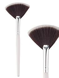 Недорогие -1 шт. Кисти для макияжа профессиональный Синтетические волосы Для профессионалов Алюминий