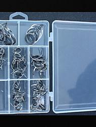 baratos -Kits de Pesca / Acessórios de pesca Resistente ao Desgaste / Fácil Uso Aço Inoxidável / Ferro Pesca de Mar / Rotação / Pesca de Água Doce