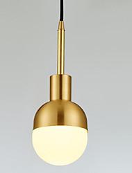 preiswerte -Kreisförmig Pendelleuchten Raumbeleuchtung - Neues Design, 110-120V / 220-240V, Wärm Weiß, Glühbirne nicht inklusive