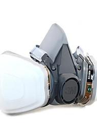 abordables -1pc Caoutchouc Masque Équipement de sécurité et de protection Protection Gaz Antidérapant Etanche à la Poussière