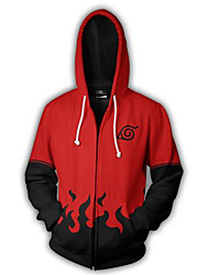 cheap -Hoodie Naruto Naruto Uzumaki Terylene Cartoon
