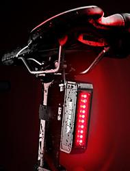 Недорогие -Задняя подсветка на велосипед Светодиодная лампа Велосипедные фары Велоспорт Водонепроницаемый, Портативные, Быстросъемный Литий-ионная аккумуляторная батарея 50 lm Красный Велосипедный спорт