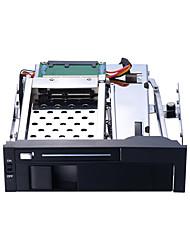 baratos -Unestech Gabinete do disco rígido Instalação automática / Casos com luz LED / Multifunção Aço Inoxidável / Liga de alumínio e magnésio ST7221B