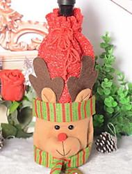 baratos -Sacos e Transportadores de Vinho Não-Tecelado Cubo Novidades Decoração de Natal