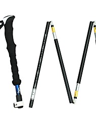 cheap -5 Sections Trekking Poles / Nordic Walking Poles / Ski Poles 135cm Light Weight / Adjustable Fit / Light and Convenient Aluminum Aluminum Alloy 7075 Ski / Snowboard / Hiking / Camping / Hiking