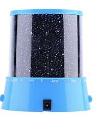billige -brelong 1 stk projeksjon stjerne lys<5v svart / blå