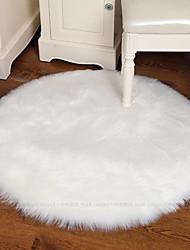 baratos -Os tapetes da área Modern Poliéster, Circular Qualidade superior Tapete