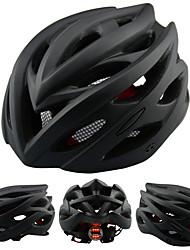 Недорогие -Взрослые Мотоциклетный шлем 24 Вентиляционные клапаны прибыль на акцию, ПК Виды спорта Велосипедный спорт / Велоспорт - Грубый черный Универсальные