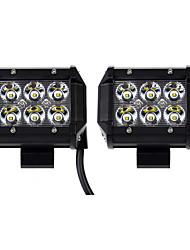 Недорогие -KAWELL 2pcs Для кроссовера / Для автоматического транспортера / Для трактора Лампы 18 W 1260 lm 6 Светодиодная лампа Рабочее освещение