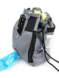 Недорогие -Грызуны / Собаки / Кролики Переезд и перевозные рюкзаки / Хранение продуктов питания Животные Корпусы Компактность / Путешествия Однотонный Серый / Черный