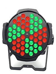 Недорогие -сценическое освещение 54 rbg полноцветный номинальный свет свадебное выступление ktv бар клуб витражная лампа мельница номинально