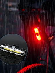 Недорогие -огни безопасности Светодиодная лампа Велосипедные фары Велоспорт Водонепроницаемый, Портативные, Прочный Перезаряжаемая батарея 150 lm USB Велосипедный спорт