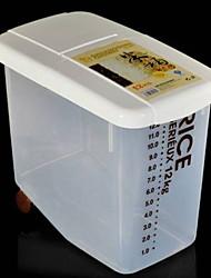baratos -Organização de cozinha Armazenamento de alimentos Porcelana / PP (Polipropileno) Armazenamento 1pç