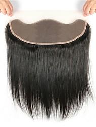 Недорогие -Fulgent  Sun Бразильские волосы 4X13 Закрытие Прямой Бесплатный Часть Швейцарское кружево Натуральные волосы Жен. Женский / Лучшее качество / Горячая распродажа / Мода