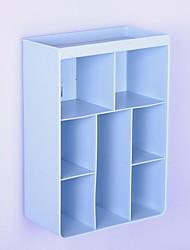 Недорогие -Коробка для хранения ПВХ Многослойный 1 коробка для хранения Сумки для хранения домашних хозяйств