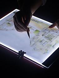 abordables -Brelong a4 ultra-mince portable dimmable led acrylique peinture conseil 1 pc