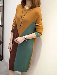 Недорогие -женский свободный платье линии midi