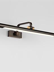 Недорогие -43см 9w северной Европы современный металлический светодиодный светильник для гостиной гостиной шкаф освещение ванной освещение макияж освещение