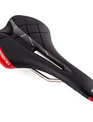 baratos -Selim de Bicicleta Ciclismo / Moto / Bicicleta  Roda-Fixa / Bicicleta De Montanha / BTT PU / Cr-Mo Respirável / Confortável / Conveniência