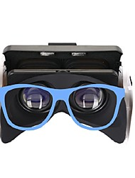 billiga -3D-Glasögon Blå VR Virtual Reality Glasses Kubartig Silikon