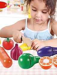 Недорогие -Ножи для овощей и фруктов Cool утонченный Взаимодействие родителей и детей деревянный Детские Все Игрушки Подарок 1 pcs