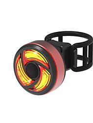 Недорогие -Задняя подсветка на велосипед Светодиодная лампа Велосипедные фары Велоспорт Водонепроницаемый Быстросъемный Легкость Литий-ионная 100 lm Работает от USB Красный