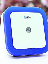 Недорогие -brlong интеллектуальное управление светом индукция европейский стандарт квадратный ночник 1 шт.