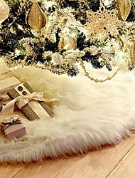 Недорогие -Рождество Праздник Ткань Круглый Для вечеринок Рождественские украшения