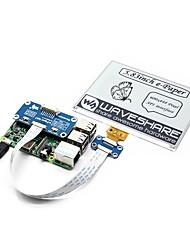 Недорогие -wavehare 5.83inch Э-бумажная шляпа 600x448 5.83inch Э-чернила дисплей шляпа для малины pi