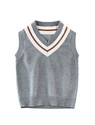 halpa -Lapset Poikien Perus Yhtenäinen Hihaton Polyesteri Toppi ja paituli Tumman harmaa