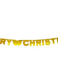 Недорогие -Новогодние флажки Праздник PVC куб Оригинальные Рождественские украшения