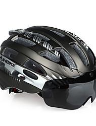 Недорогие -INBIKE Взрослые Мотоциклетный шлем 25 Вентиляционные клапаны прибыль на акцию, ПК Виды спорта Велосипедный спорт / Велоспорт - Оранжевый / Синий / Розовый Муж. / Жен.