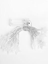 Недорогие -3M Гирлянды 20 светодиоды Желтый / Разные цвета Творчество / Свадьба / Новогоднее украшение для свадьбы 220-240 V 1 комплект
