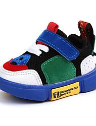 billiga -Pojkar / Flickor Skor Nät Höst vinter Komfort / Lysande skor Sneakers Snörning / Krok och ögla för Barn / Småbarn Svart / Blå / Rosa / Polyestergummi