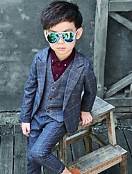 tanie -Dzieci Dla chłopców Nadruk Długi rękaw Komplet odzieży