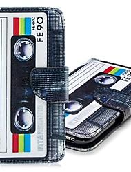 abordables -Coque Pour Apple iPhone XR / iPhone XS Max Portefeuille / Porte Carte / Avec Support Coque Intégrale Carreau vernisé Dur faux cuir pour iPhone XS / iPhone XR / iPhone XS Max
